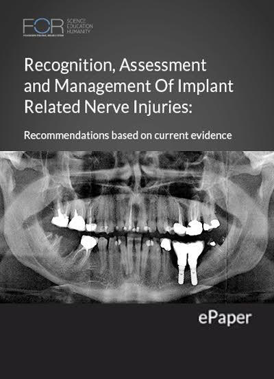 Dental implant nerve injury